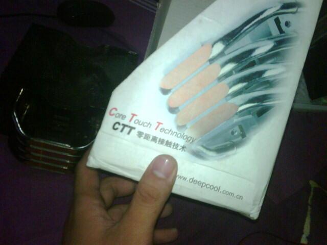 HSF DeepCool Ice Blade Pro. Supot ALL Intel (Kecuali 2011) & ATI. Dingin Mantep.....