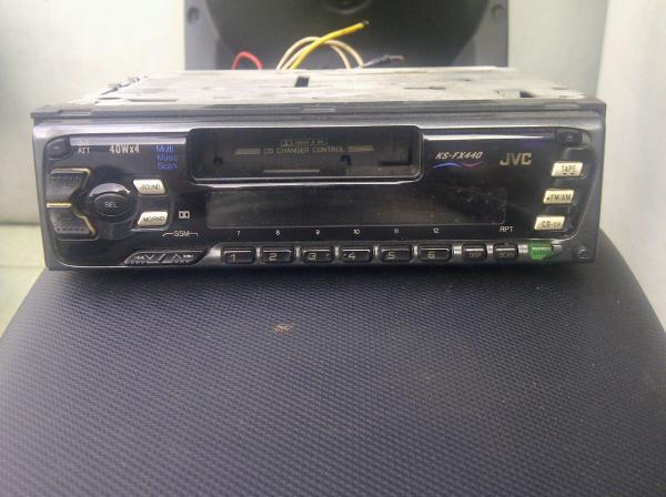 Jual 350rb Tape+Radio(cd changer)single din JVC KS-FX440