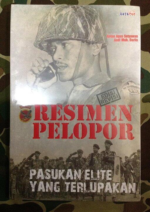 buku resimen pelopor pasukan elit yang terlupakan