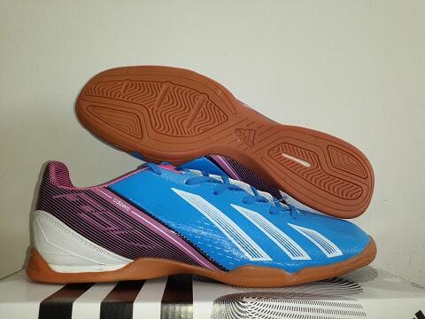 Sepatu Futsal NEW Adidas F50 Adizero iii Ungu Merah  Red Purple Lionel Messi da9101862e288
