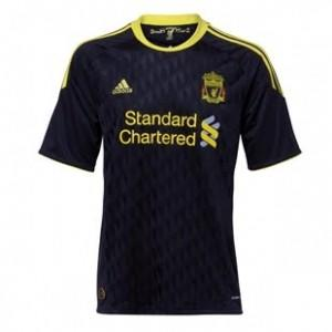WTB Jersey Liverpool Musim 2010-2011 Home/Away