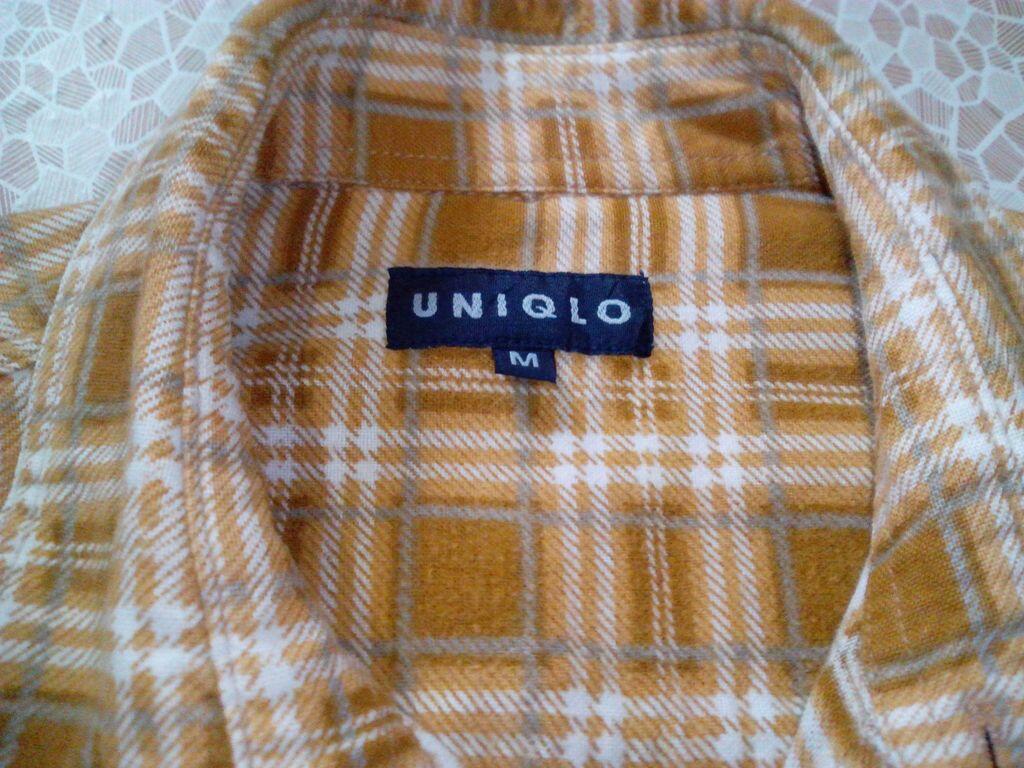 Kemeja Flanel (Authentic Flannel Uniqlo, NOTON, Eddie Bauer, Pierre Cardin)
