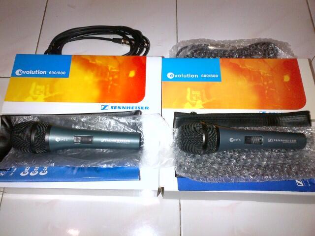 Microphone Sennheiser E835s dan E845s @190rb