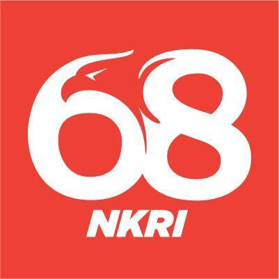 Logo HUT Ke-68 RI Versi Gaul