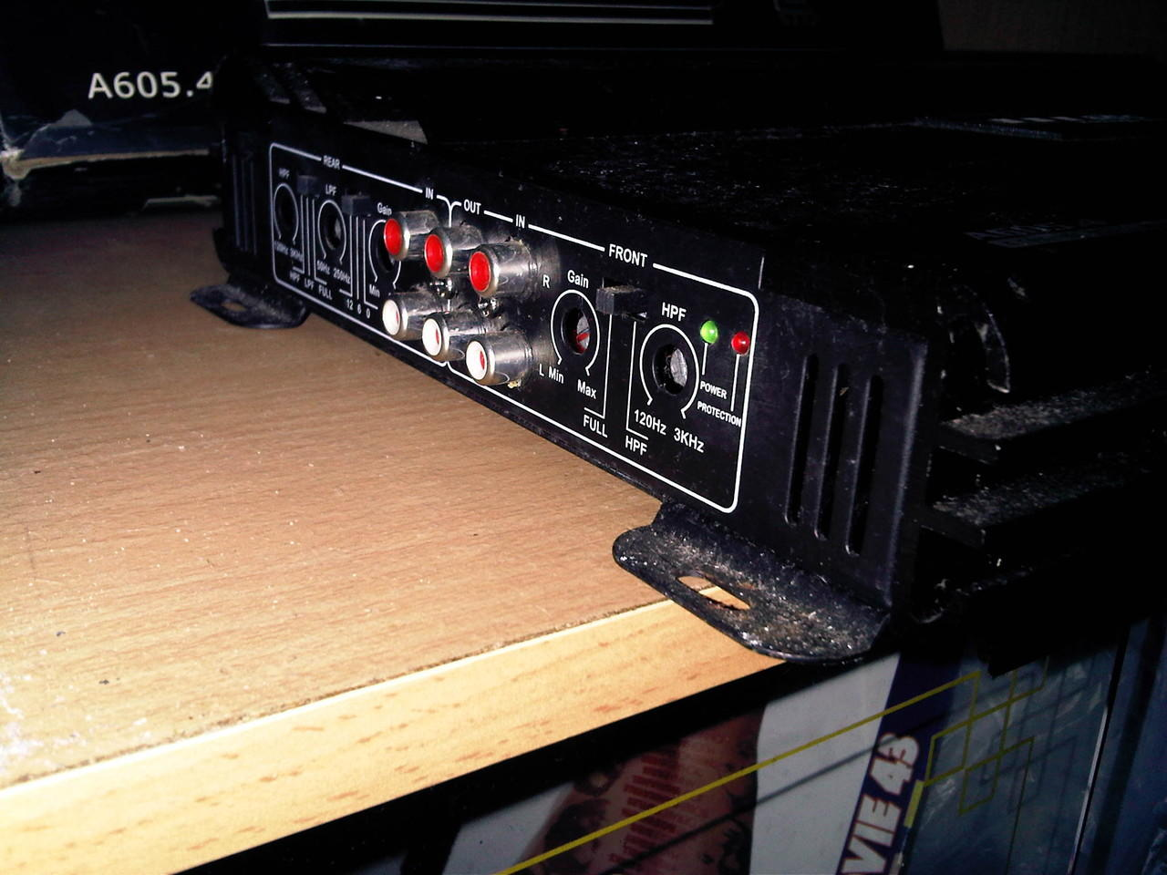 """WTS Power Amp' ADS 8000w 4 channel & subwoofer Pegasus Gold 12"""""""