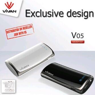 Powerbank Vivan V05 5600mAh CUMA RP.270.000