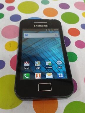 Samsung Galaxy Ace S5830 Black mulus + normal = 1.1 jt mau gan ?