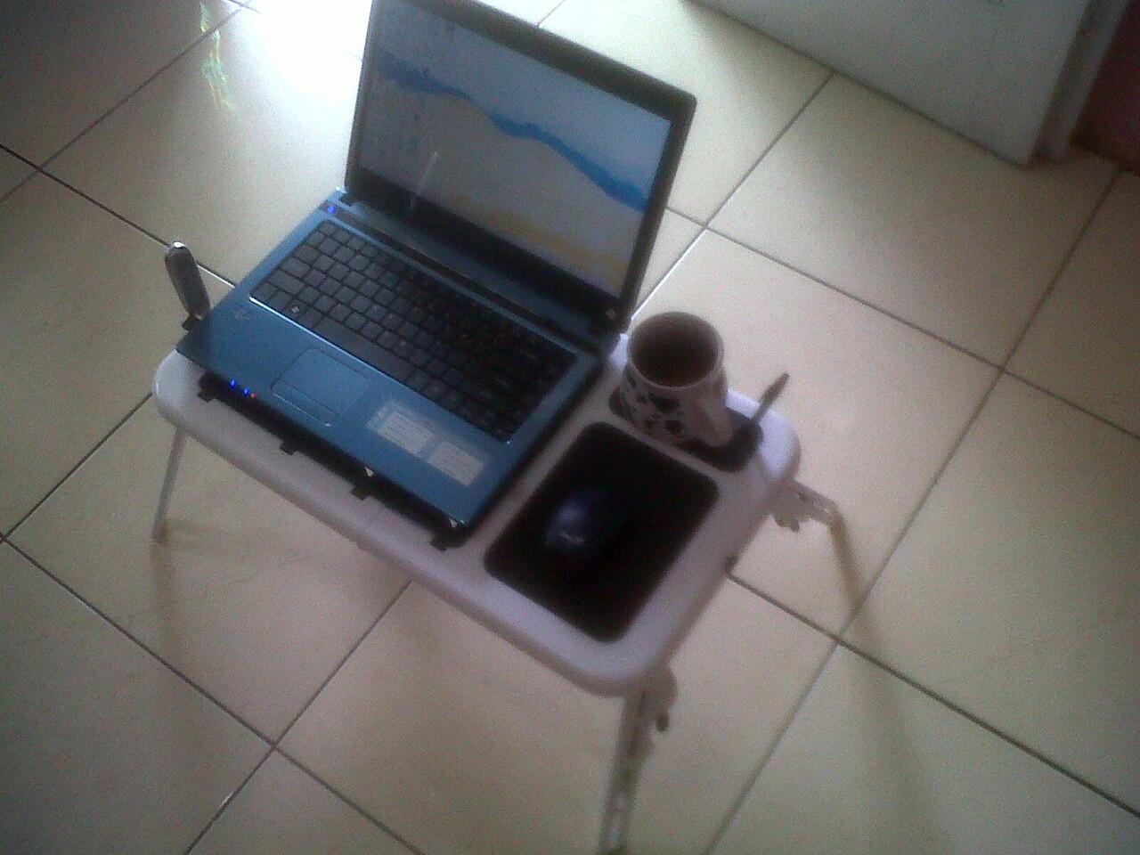 Terjual Cuci Gudang Meja Laptop Portable Murah Bandung Cuman 115rb