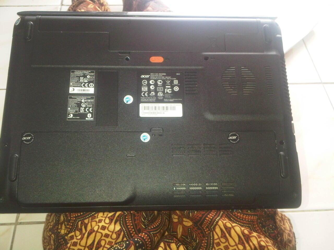 JUAL CEPAT BUTUH UANG LAPTOP ACER Aspire 4752 Intel CORE i5 . TERMURAH !!!