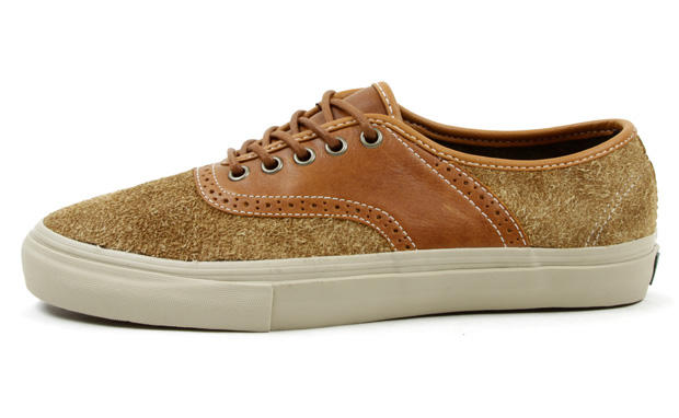 e41e93a2a8f948 Terjual Vans Vault Spectator LX Hairy Suede  Brown Burgundy