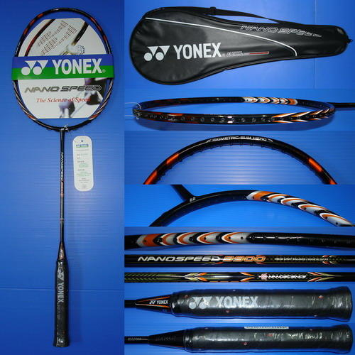 RaKeT BuLuTaNgKis YONEX BaDminToN NaNoRaY Z sPeEd sOnic MeTaL ORIGINAL MaDe in JAPAN