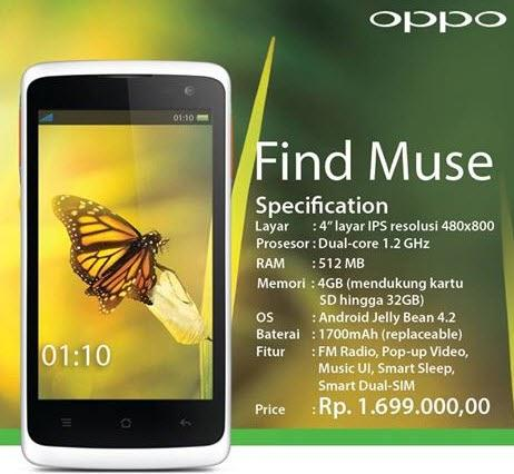 [Official Lounge]OPPO Find Muse ~ Get Smart n Easy !!
