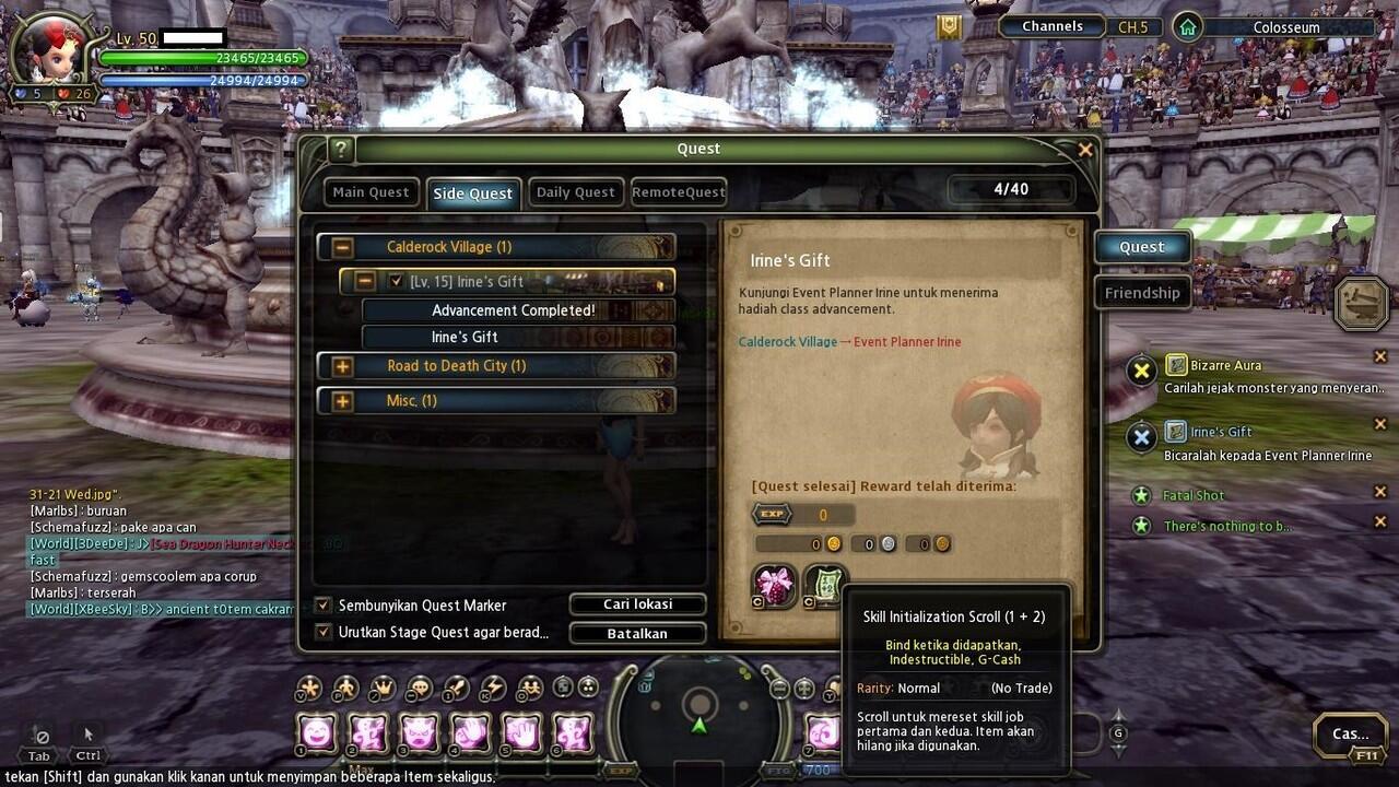 WTS>Char Dragon Nest Cyromancer/Elestra Althea MASUK DULU GAN!
