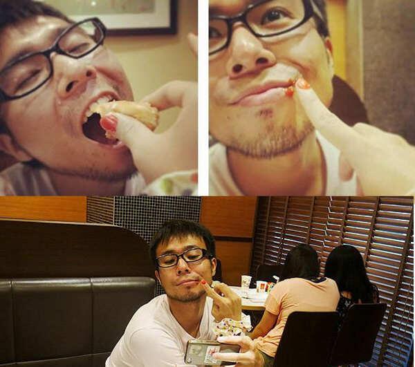 Trik Foto Untuk Para Jomblo Yang Ingin Tampak Seolah-olah Punya Pacar :p