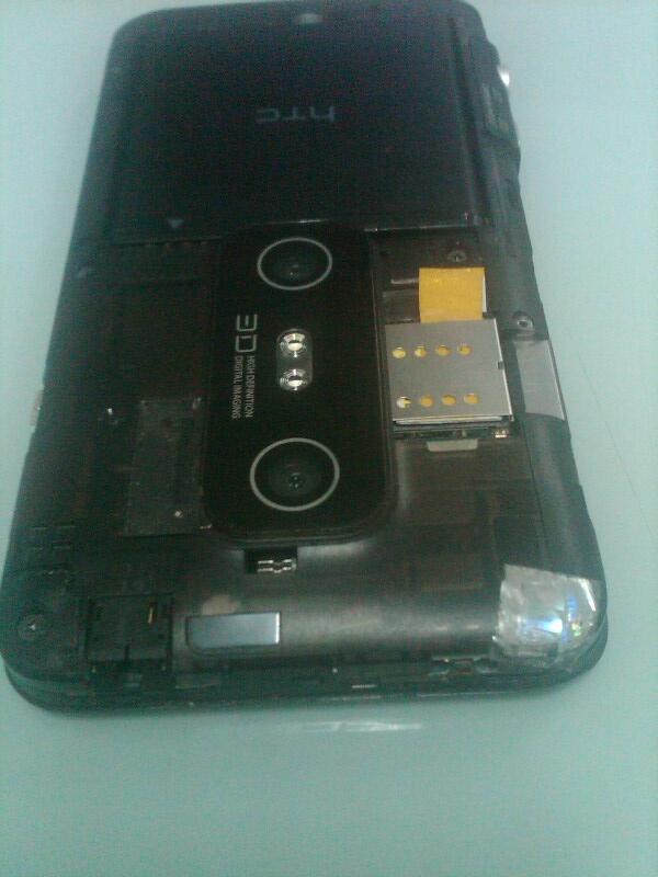 WTS HTC Evo 3D GSM Fullset Mulus...Solo