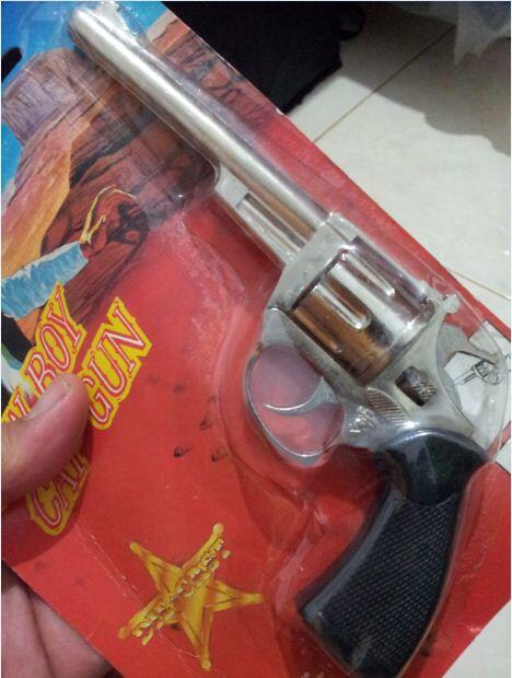 Kolektor Harus Punya Pistol Doblis/Caps Gun ini..!