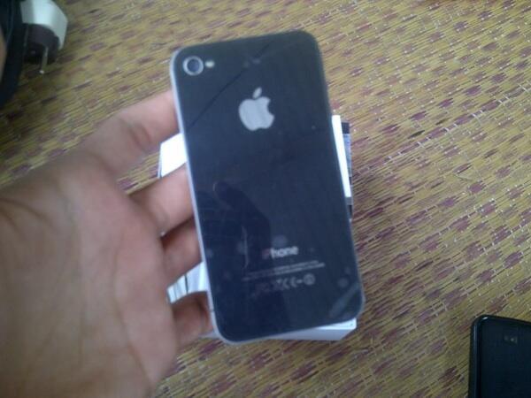 Jual iphone 4G 16GB black