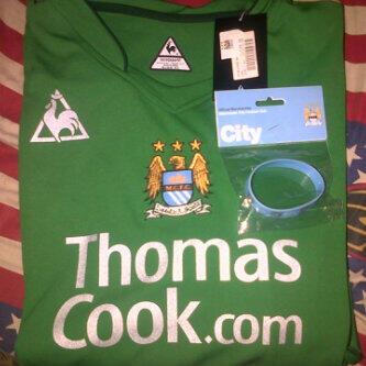 Manchester City GK 2007 home (BNWT) MURMER!!!!