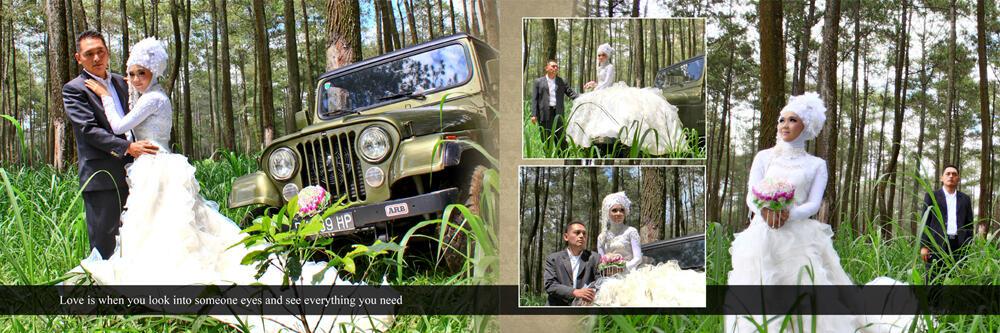 Jasa Desain Album Kolase Murah | Wedding/Prewedding