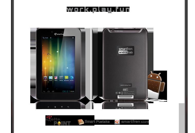 Smartfren ANDROMAX Tab 7 + Leather Case [SURABAYA]