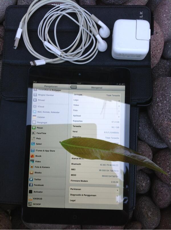wts..apple ipad mini 64gb wi-fi cellular bener2 mulus gan...