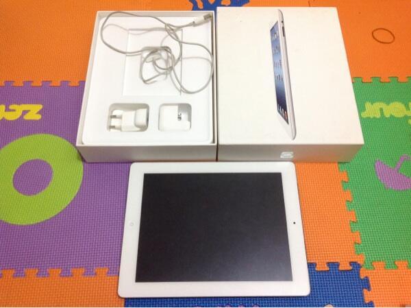 Sell new ipad 3 4G 16gb white fullset garansi bisa TT gadgetmu