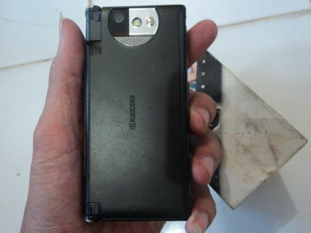 Android KYOCERA ECHO Black Fullset Malang