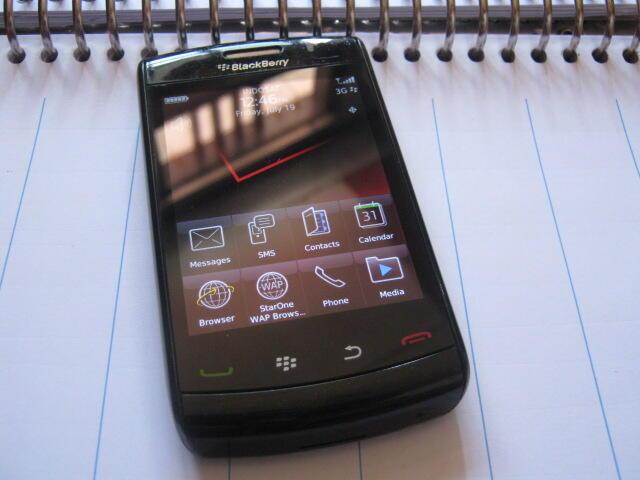 Blackberry storm 2 9550 odin mulus segel lengkap