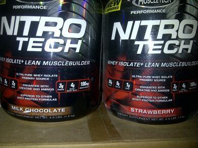 MuscleMeds ON Nitrotech AST Musclepharm Tren-E amino