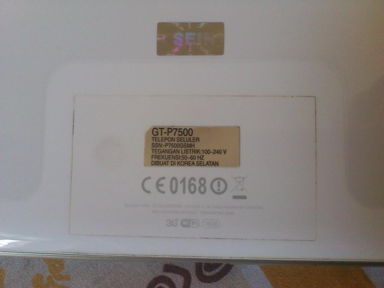 [WTS] Galaxy Tab 10.1 Pure White