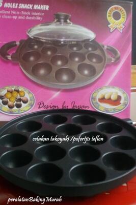 Terjual Snack Maker 7 12 15 Lubang Holes Dorayaki