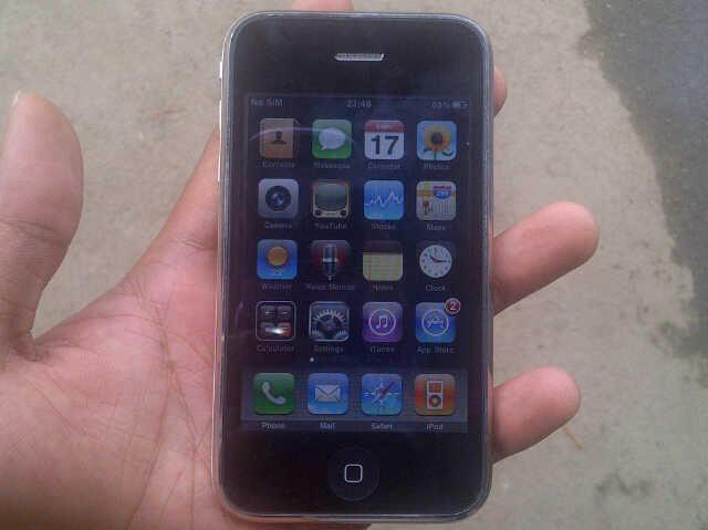 Terjual jual cepattt iphone 3GS 16gb FU warna putih jaksel murah ... 7fe1aff037