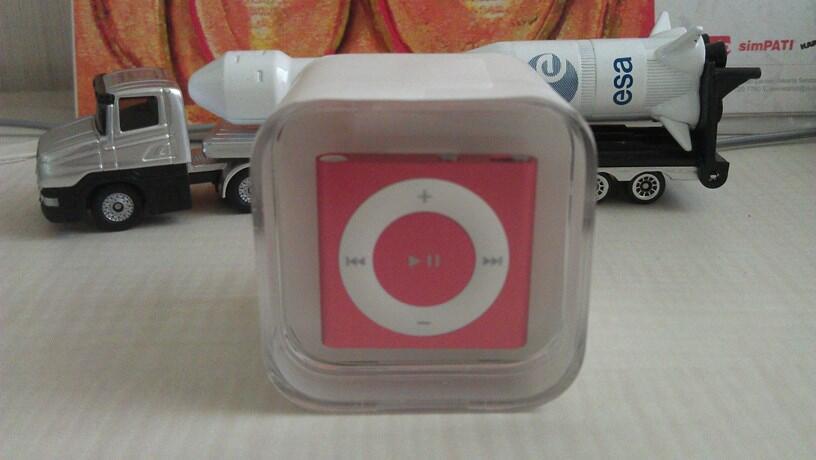 Jual iPod Shuffle 2GB Gen 4 Red