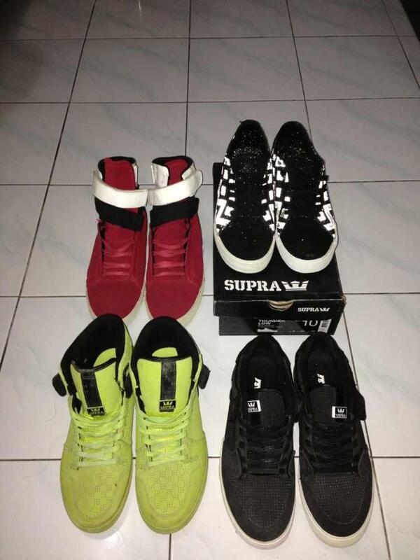 WTS Supra Footwear 100% ori, murah!