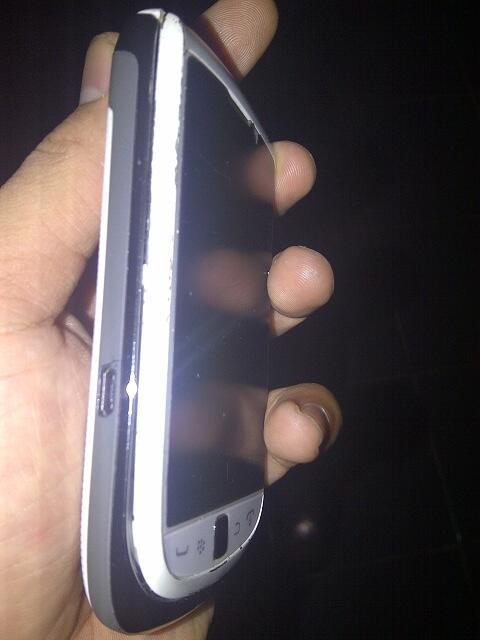 blackberry 9810 white garansi resmi msh panjang