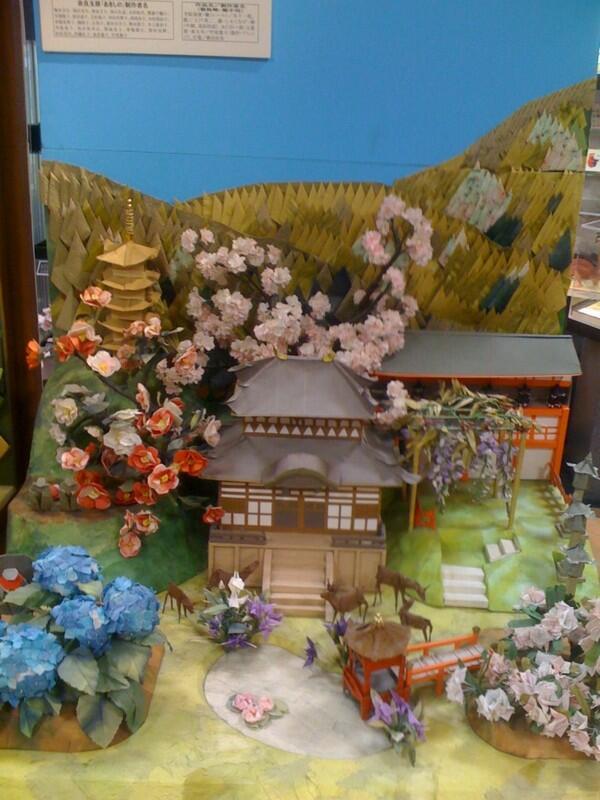 Koleksi Unik Museum Origami di Bandara Tokyo