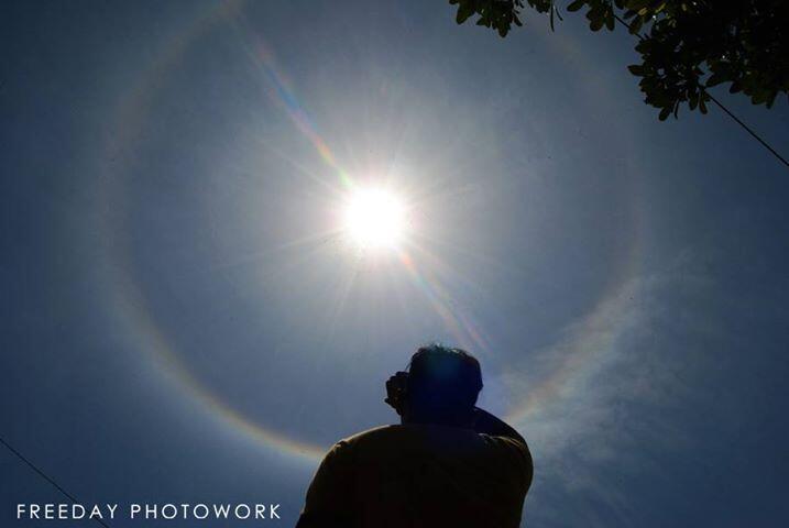 Yang Di Surabaya Buruan Keluar Rumah Sekarang (Matahari Siang Ini)