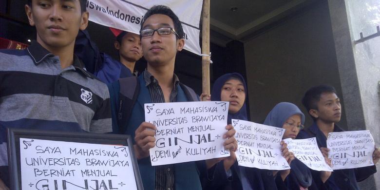 Tak Mampu Bayar SPP, Puluhan Mahasiswa Siap Jual Ginjal