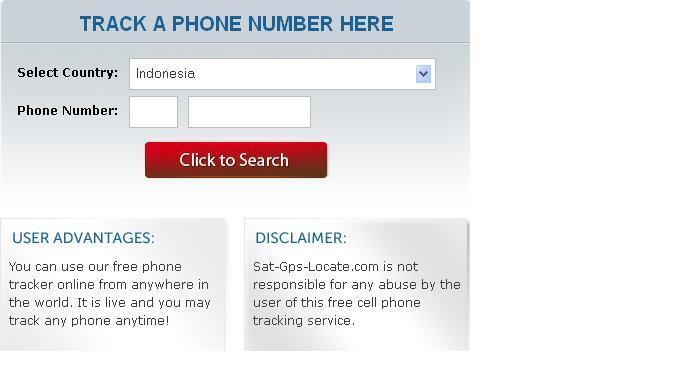 Cara Melacak Lokasi Dari Nomor Handphone