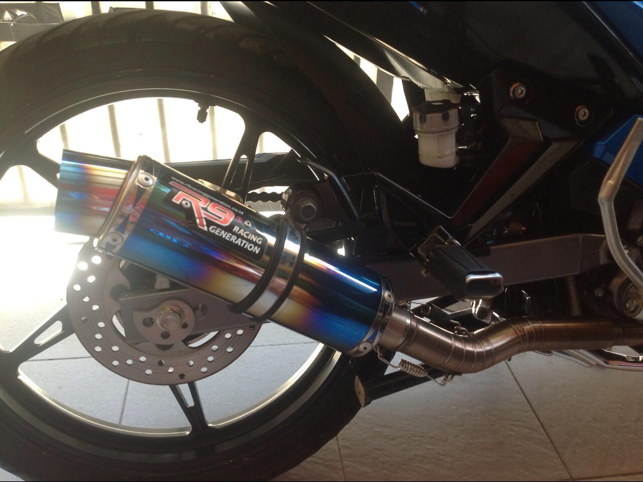 wtb knalpot r9 new mugello for njmx