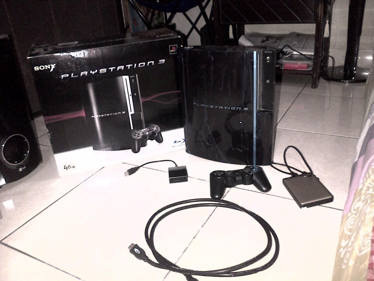 PS3 FAT 500GB Mulus!
