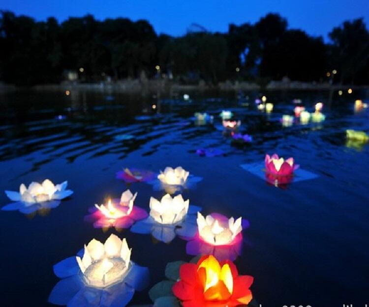 Jual Lampion Terbang/Sky Lantern dan Lampion Apung/Water Lantern MURAH Impor lsg Cina
