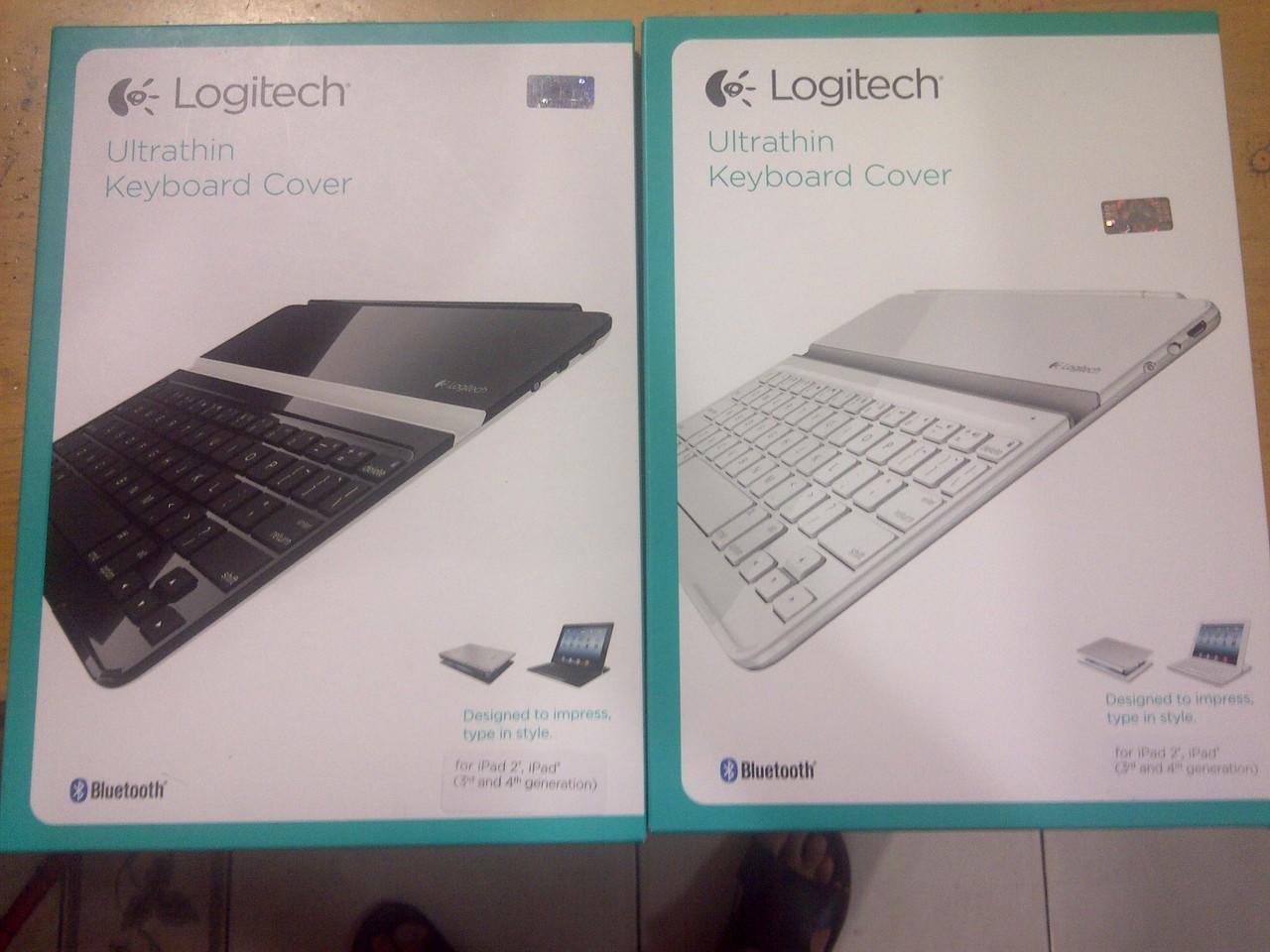 LOGITECH ULTRATHIN KEYBOARD FOLIO IPAD 2/3/4,MINI 1,2,IPAD AIR,SAMSUNG NOTE PRO12.2""