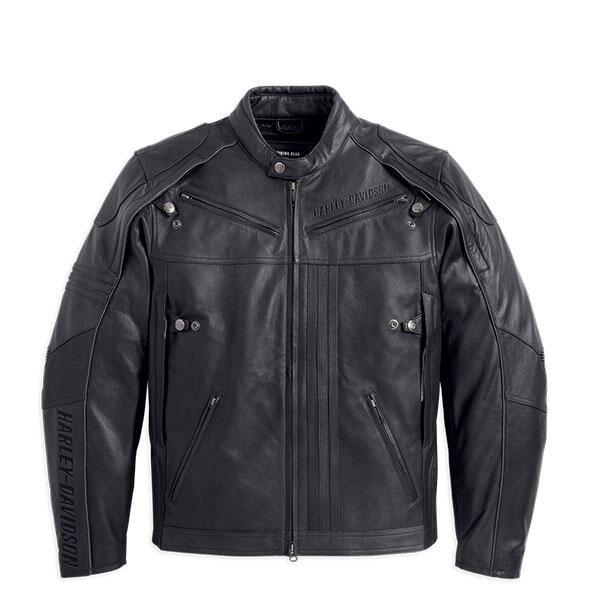 Terjual Jaket Kulit Leather Jacket Harley Davidson