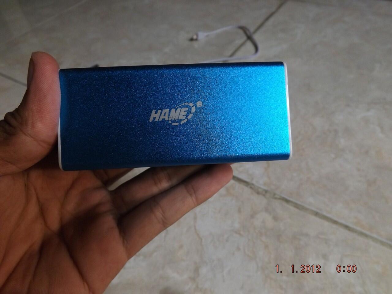 Power bank Hame 10400mAh murah, cek dulu