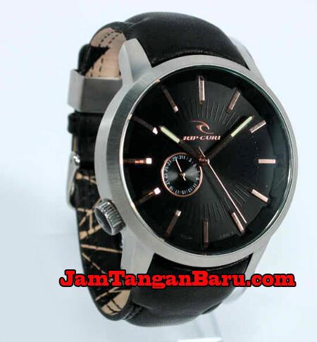 Terjual Jam Tangan Ripcurl Detroit Leather Black  54096a31e1