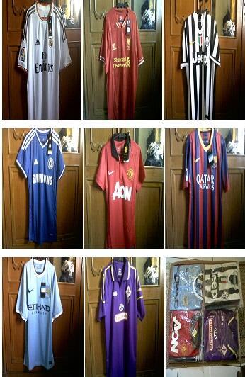Readystock Jersey Spurs,Juve,Dortmund,Bayern,Liv,Madrid,Manutd,Chelsea,City Bandung