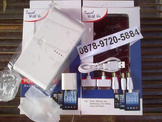 TERMURAH POWERBANK TRAVEL 28000MAH 310RB - UNIQUE - IC 12000 - CROSS - VIORA -SAMSUNG
