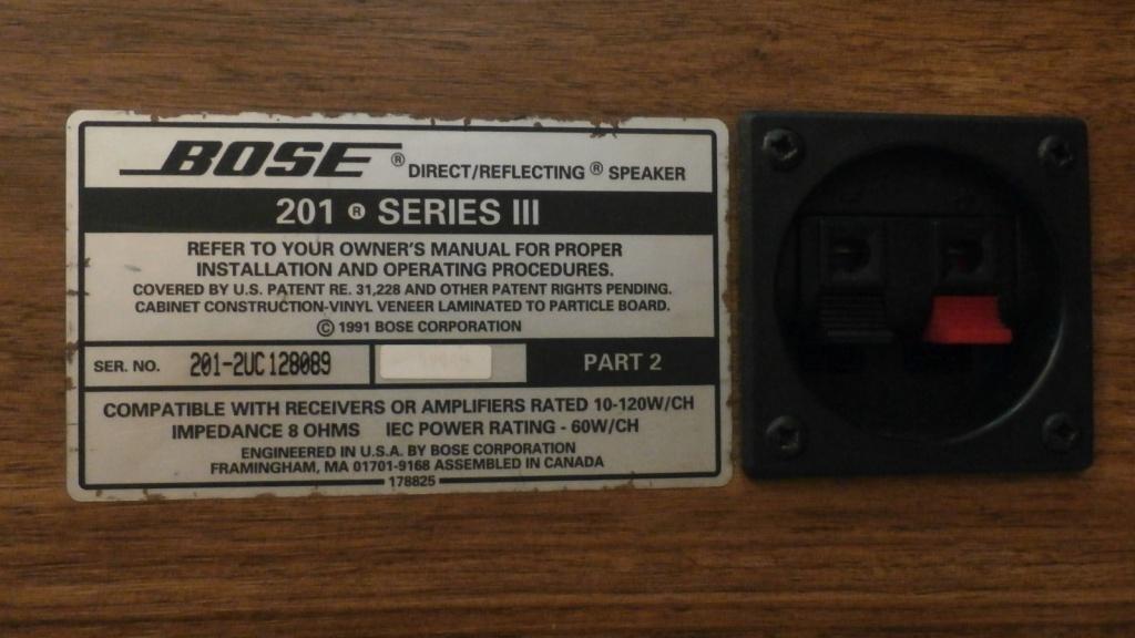 bose 201 series iii. speaker bose 201 series iii iii c