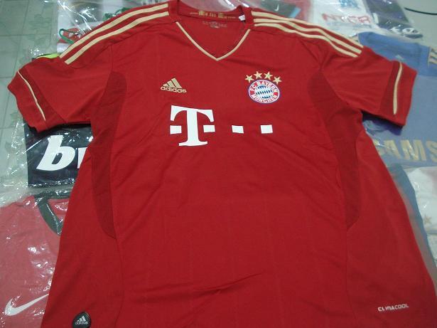 jersey baju bayern munchen 2010/11, 2011/13 home